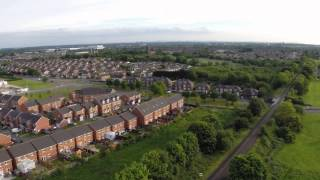 preview picture of video 'First Flight Kirkby using H3-3D DJI Phantom 2 and Gopro Hero3+'
