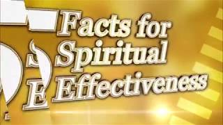 NEW: 5 Facts For Spiritual Effectiveness By Pastor Chris