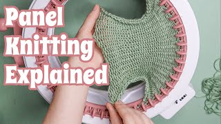 How To Knit A Flat Panel On The Sentro Circular Knitting Machine