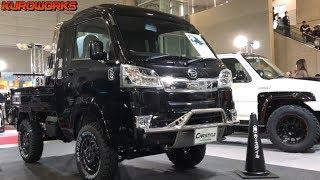 【オートサロン2019速報】リフトアップカスタムされた軽トラを大公開!キャリィ  ハイゼット