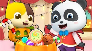 Trick or Treat Song | Halloween Song | Monster Truck | Kids Songs | Kids Cartoon | BabyBus