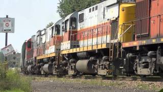 preview picture of video 'ALCOs & Steam in Scranton: DL RS3s, CNR 3254 & More...'