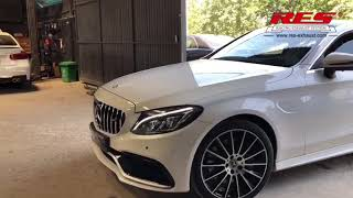 c300 coupe exhaust system - TH-Clip