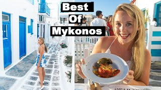 EVERYTHING to See and Do in MYKONOS   Greece Free Travel Guide   Old town, Delos and Little Venice