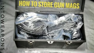 Gun Magazine Storage:  How to Organize Mags