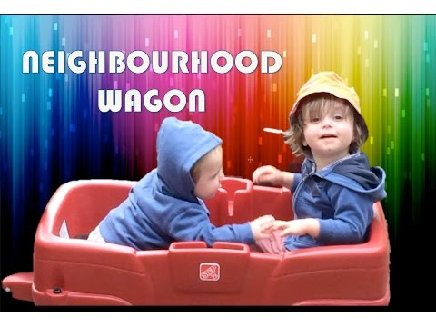 Alex Reviews Step 2 Neighbourhood red Wagon