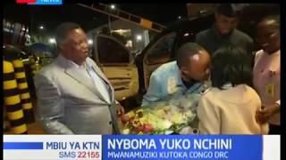 Mwanamuziki mashuhuri wa lingala Nyboma awasili nchini kwa mwaliko wa COTU