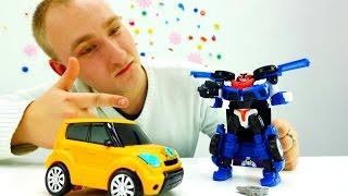Детское видео про машинкы и роботы. Игрушки для мальчиков Трансформеры