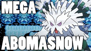 Abomasnow  - (Pokémon) - Pokemon How To Use: Mega Abomasnow! Abomasnow Moveset Pokemon Omega Ruby and Alpha Sapphire / X&Y
