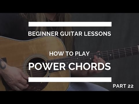 How to Play a Power Chord for Guitar | Beginner Guitar Lesson #22