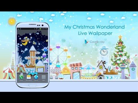 Video of My Christmas Wonderland LWP