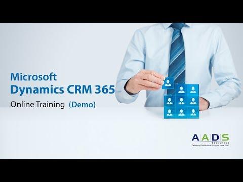 Microsoft Dynamics 365 CRM Online Training Demo - YouTube