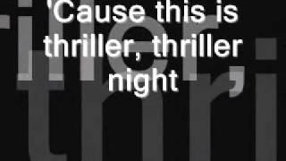 Thriller-michael Jackson (letra)[original]