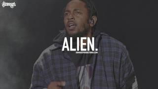 "[FREE] Kendrick Lamar Type Beat Hard Spacey Trap Hip Hop Instrumental 2017 / ""ALIEN."" (Prod. Homage)"