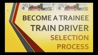 How to Become a Train Driver - Trainee Train Driver Selection Process