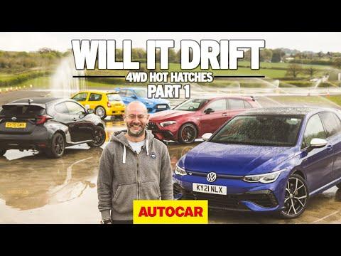 Will it drift? The Volkswagen Golf R   4wd hot hatchbacks part 1   Autocar