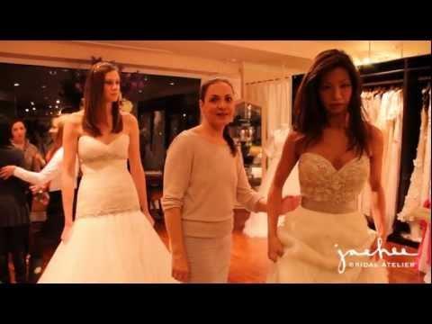 Town & Country Bridal Party at JaeHeeBridal