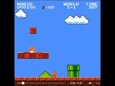 Này thì Mario ăn nấm