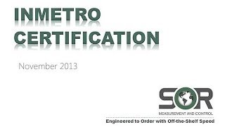 INMETRO Certification