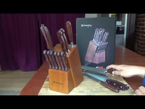 Messerblock Emojoy  - 15tlg - gutes Produkt zum fairen Preis