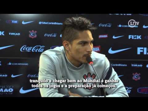 Pensando no Mundial, Guerrero chama jogo com Bahia de 'final'