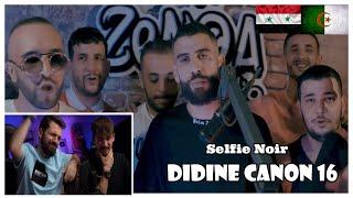 Didine Canon 16 - Selfie Noir (Official Live Video) (Syr Reaction) تحميل MP3