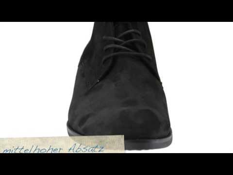 Übergrößen Schuh des Tages   XXL Damen Gabor Stiefelette Velour - schuhplus