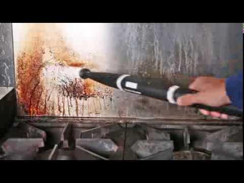 Cómo limpiar cocinas comerciales con un limpiador de vapor