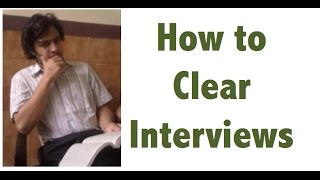 Interview Tips - Body Language Tips for government competitive exam preparation