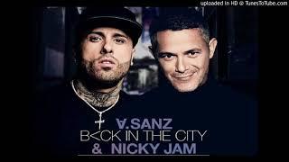 Alejandro Sanz Ft Nicky Jam - Back In The City