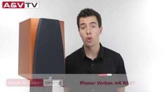 Phonar Veritas M4 NEXT állványos hangfal teszt AV-Online