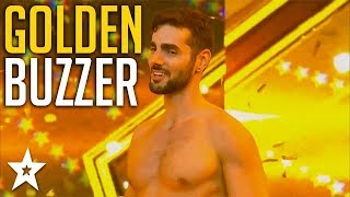 Man in Stilettos Gets GOLDEN BUZZER on Israel's Got Talent 2018