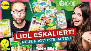 Lidl eskaliert völlig -  So schmeckt Vegan zum Discount Preis (08/21) #Dauersortiment