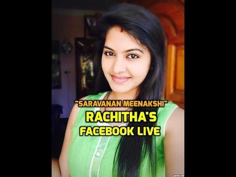 Saravanan Meenakshi Rachitha Mahalakshmi Dinesh Facebook Live 23/07