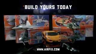 Harrier. БЫСТРАЯ СБОРКА БЕЗ КЛЕЯ. 1/72 AIRFIX J6009 от компании Хоббинет. Сборные модели. - видео