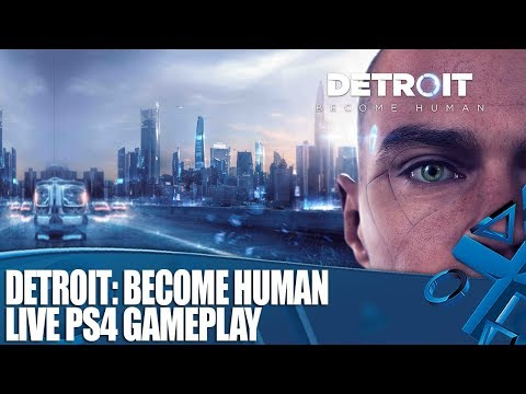 Detroit: Become Human – Live PS4 gameplay