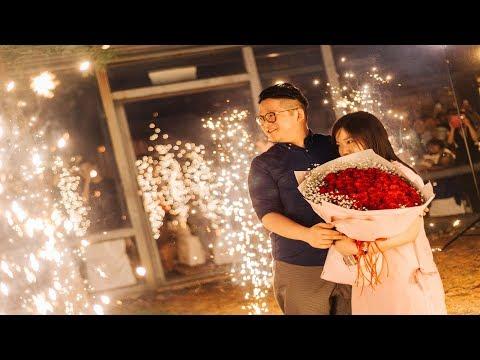 ✨『妳的不離不棄 我們的愛情長跑』- 香港來台感人求婚