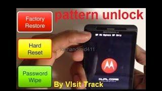 Motorola droid maxx xt1080 pattern unlock hard reset