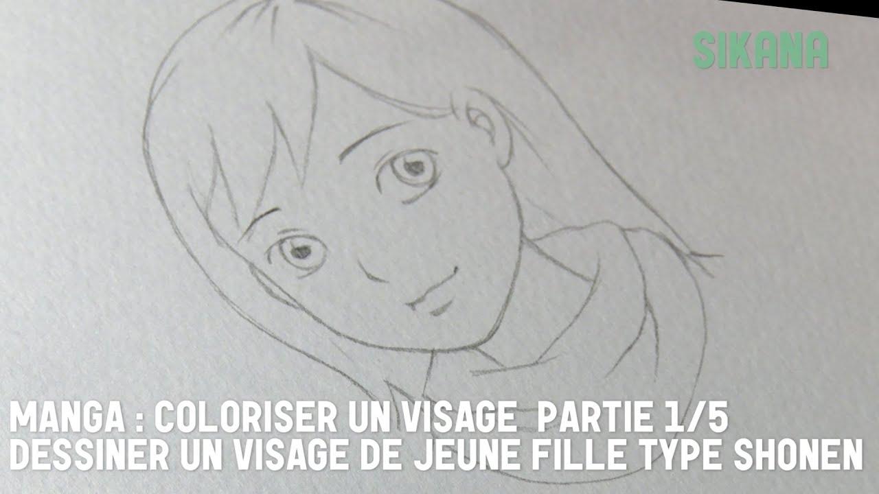 Colorisation visage aquarelle manga 1 dessiner un visage apprendre dessiner sikana - Comment dessiner un but de foot ...