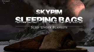 Skyrim mod review 2016. Skyrim Sleeping Bags. [60FPS|1080p]