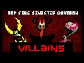 Top Five Sinister Cartoon Villains