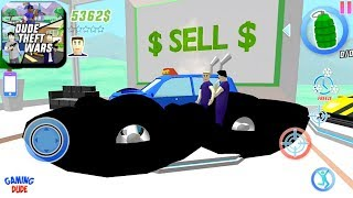 Dude Theft Wars: Open World Sandbox Simulator BETA - Selling Monster Truck   Android Gameplay HD