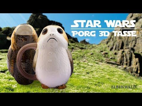Star Wars: Porg 3D-Tasse