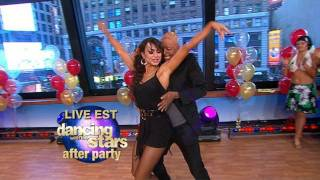 "J.R. Martinez, ""Dancing With the Stars"" Winner, Karina Smirnoff Dance Cha-Cha on ""GMA"""