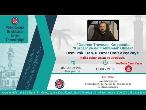Deprem Travması Karşısında Kurban Ya da Kahraman Olmak - İzmir Psikoterapi Enstitüsü Söyleşimiz