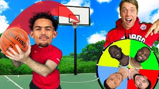 PICK YOUR NBA PLAYER TRICKSHOT H.O.R.S.E.! PART 2 *Trae Young, Ben Simmons...*