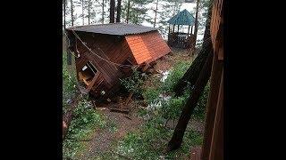 Разрушительные шквалы в горах Алтая