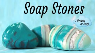 How To Make Cold Process SOAP STONES, Soap Rocks, And Making Soap Stone Mold. Soap Challenge Club