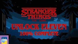 Stranger Things The Game: Eggo 8, Unlock Eleven, 100% Complete Walkthrough (by BonusXP)