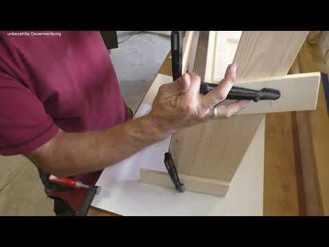 Briefkasten aus Holz selber bauen